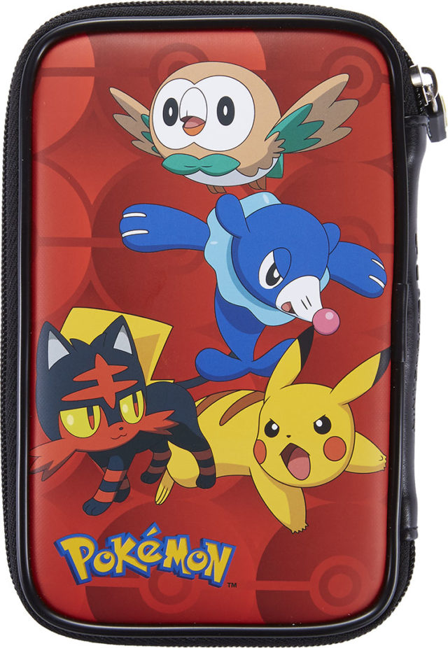 Pochette de transport officielle pokémon pour consoles – Visuel