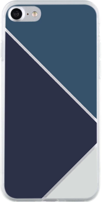Coque semi-rigide (triangles bleus) - Packshot