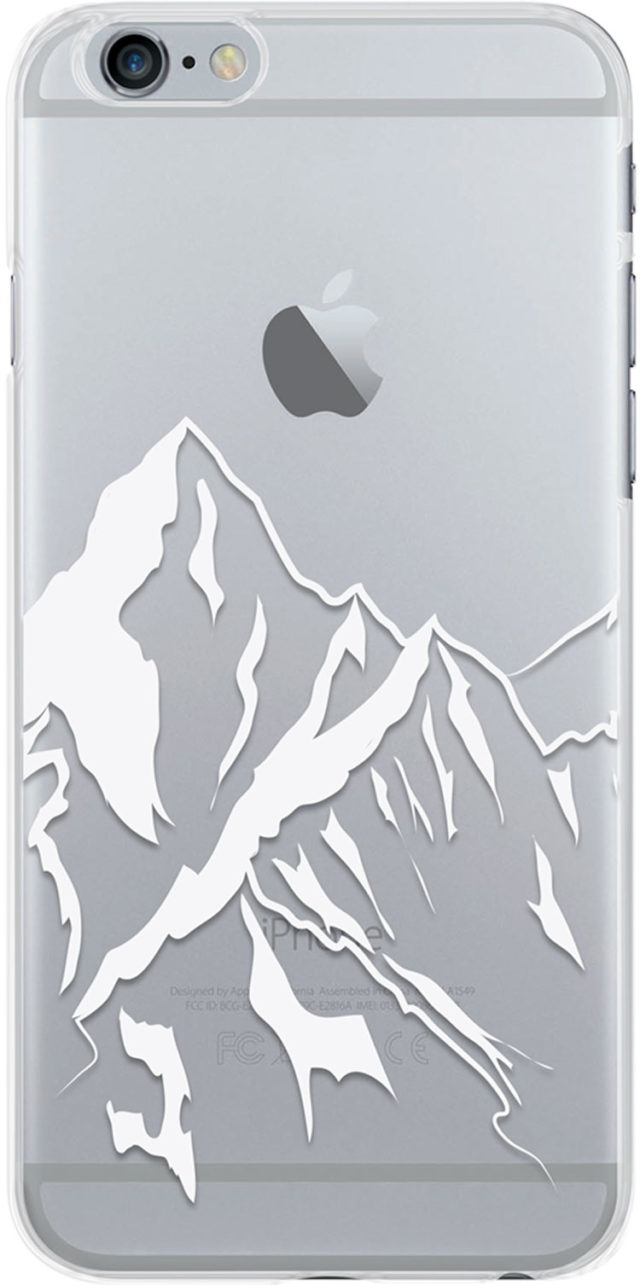 Coque semi-rigide transparente (montagne) - Packshot
