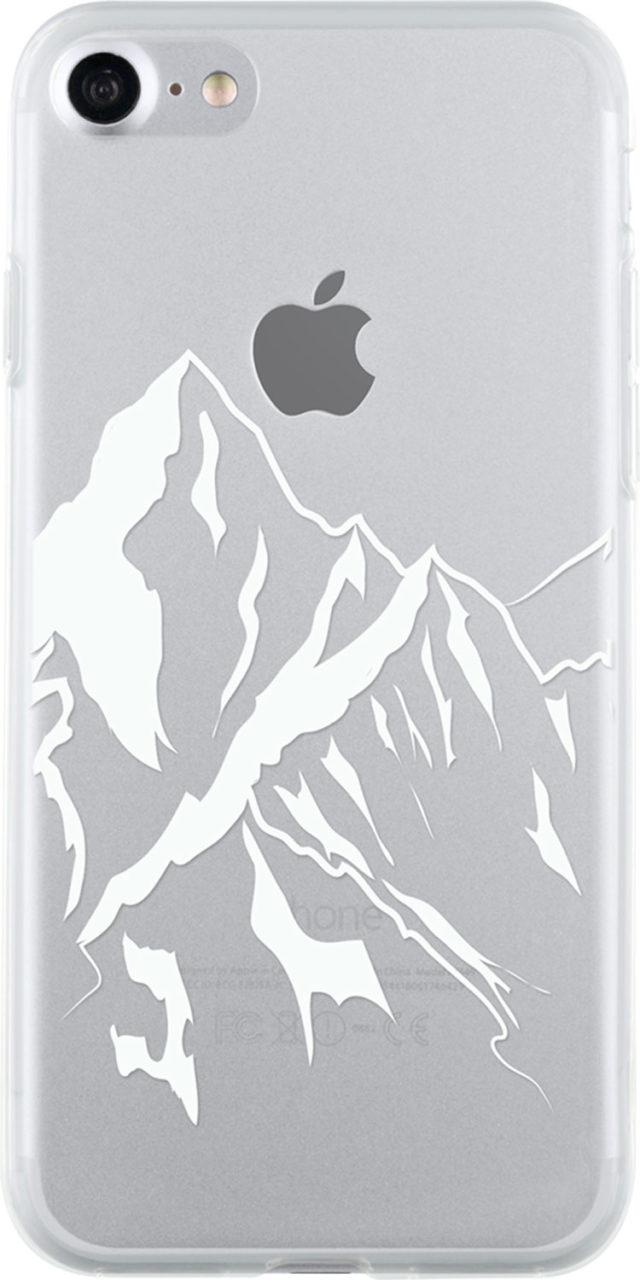 Coque semi-rigide transparente (montagne) - Packshot