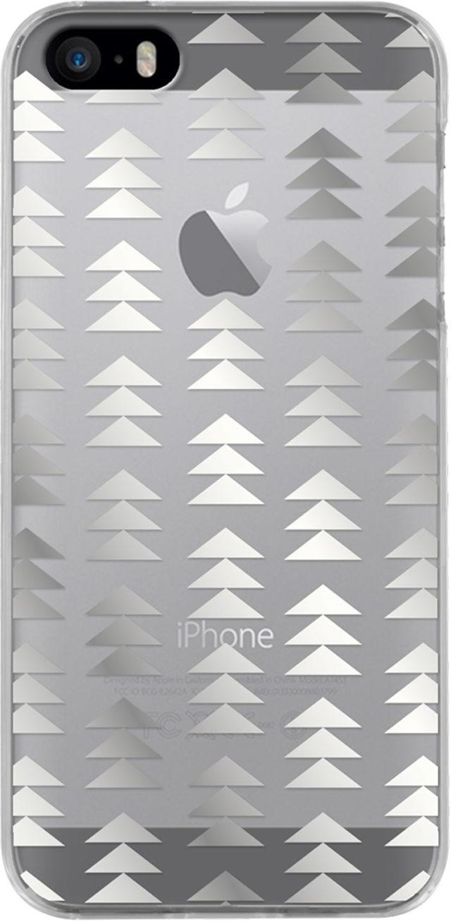 Coque semi-rigide transparente (sapins argentés) - Packshot