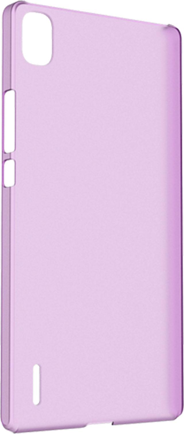Coque rigide translucide (violette) - Packshot