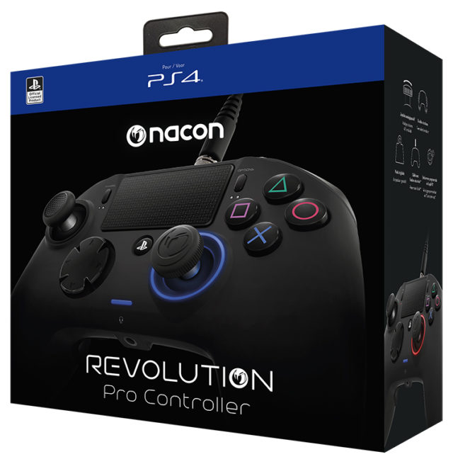 Manette Revolution Pro Controller sous licence officielle PlayStation® 4 – Visuel#1