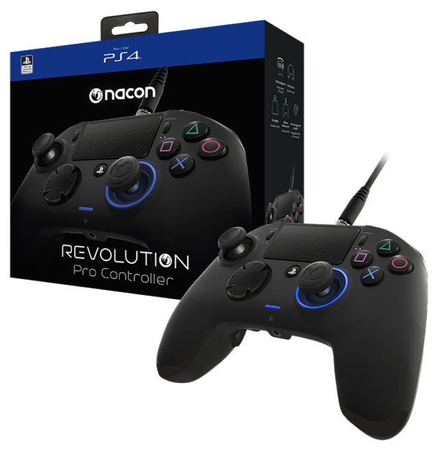 Manette Revolution Pro Controller sous licence officielle PlayStation® 4 – Visuel#2tutu