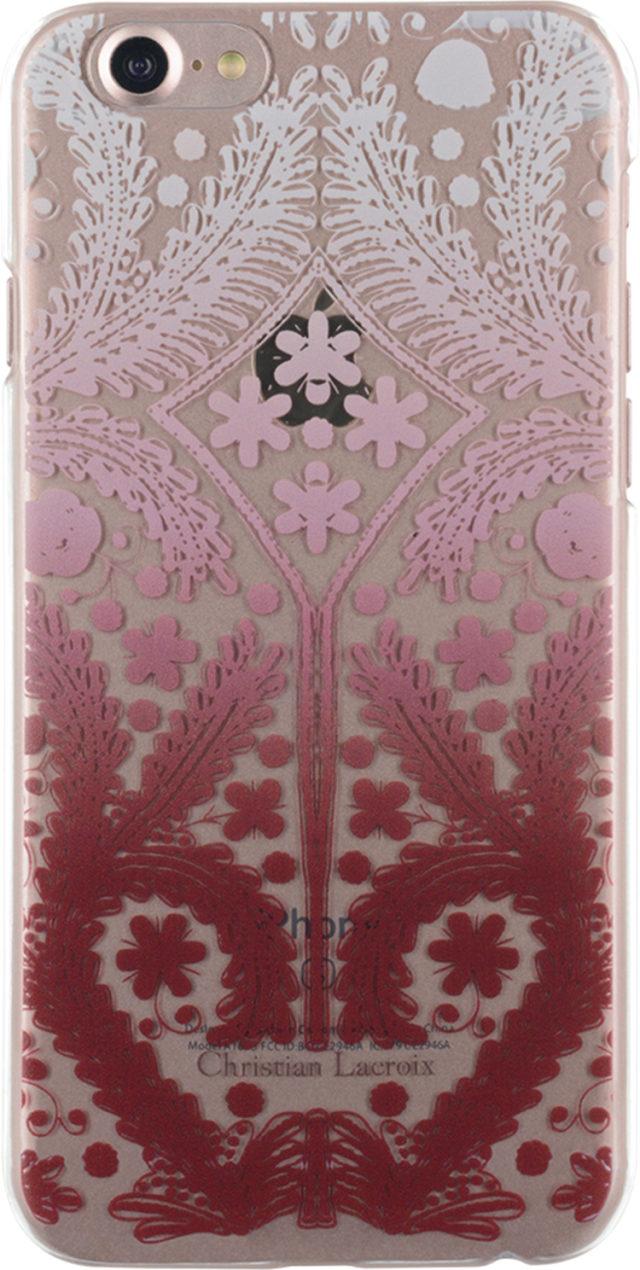 Coque rigide Christian Lacroix Paseo transparente (rose) - Packshot