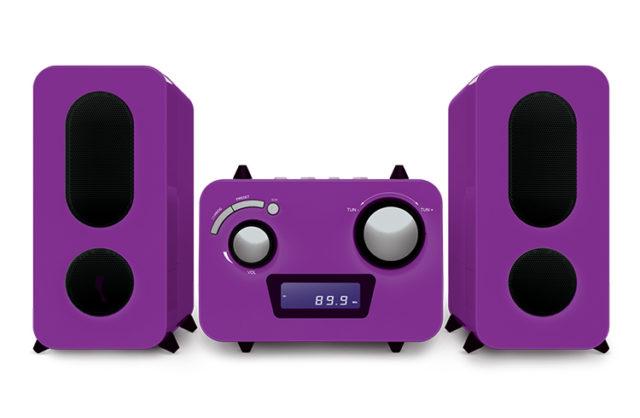 Micro chaîne lecteur CD MP3 – Packshot