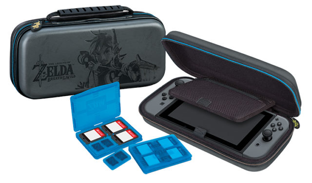 Pochette de transport deluxe officielle « Zelda » - Packshot