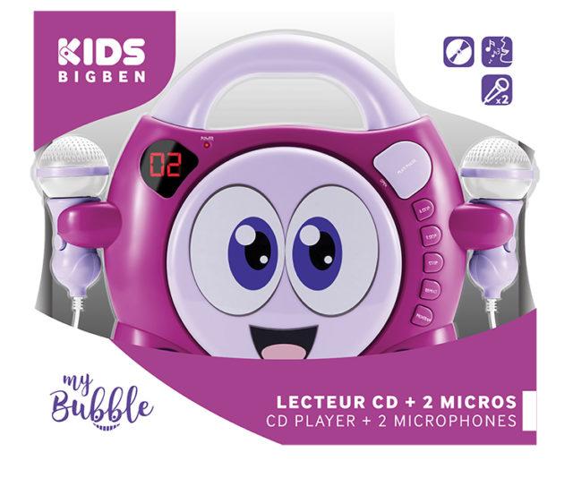 Lecteur CD avec 2 micros «My Bubble» – Visuel#2tutu
