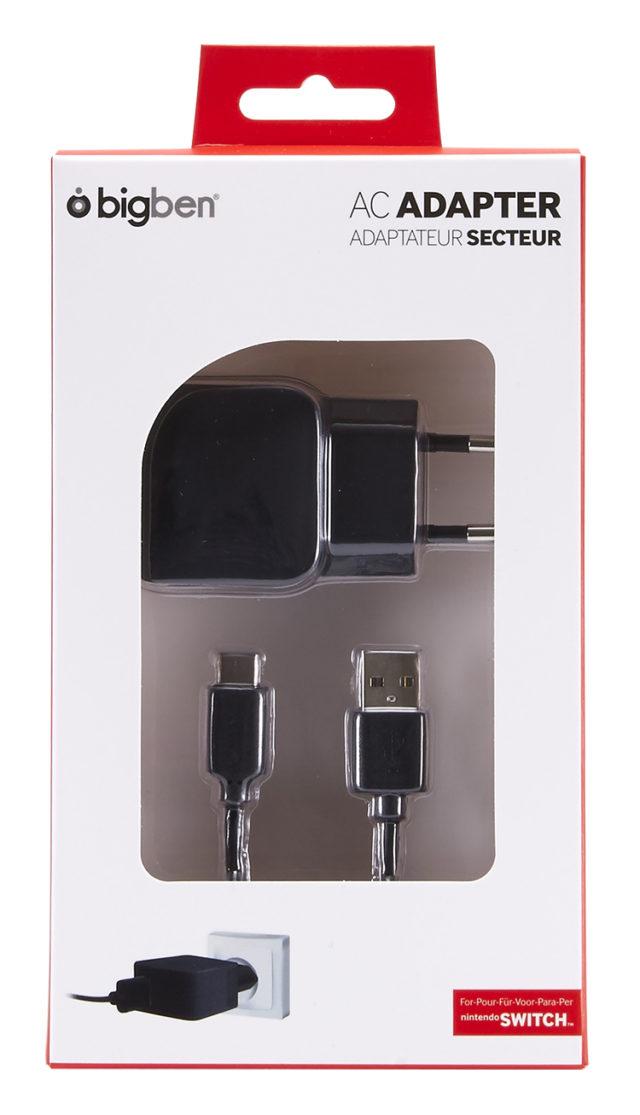 Adaptateur secteur pour recharger la Nintendo Switch™ – Visuel#2tutu#3