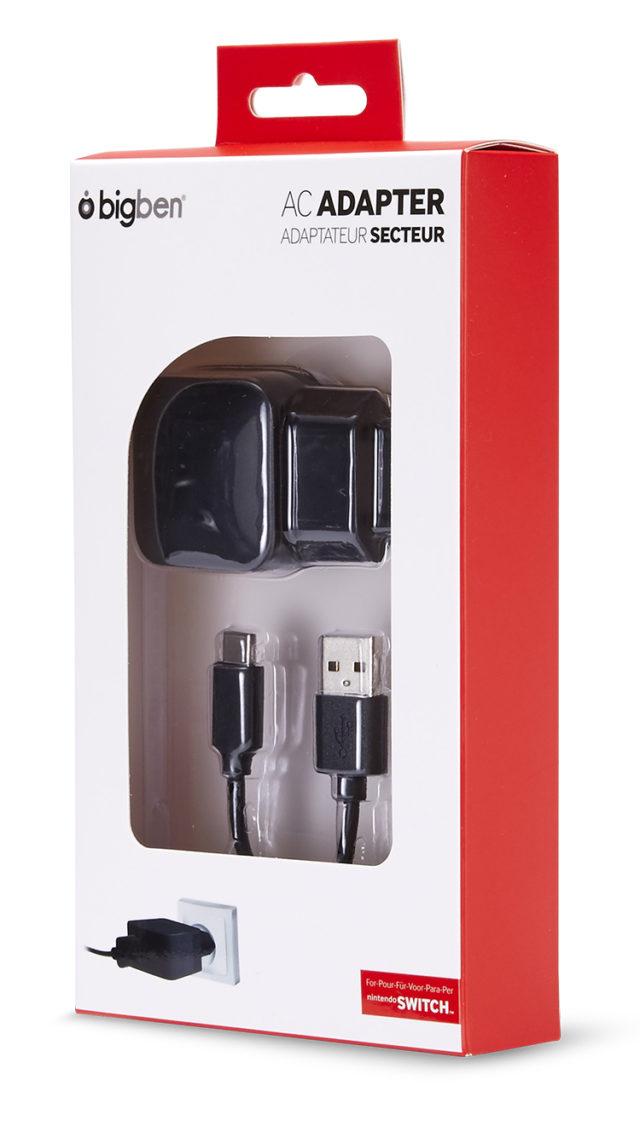 Adaptateur secteur pour recharger la Nintendo Switch™ – Visuel#2tutu#4tutu