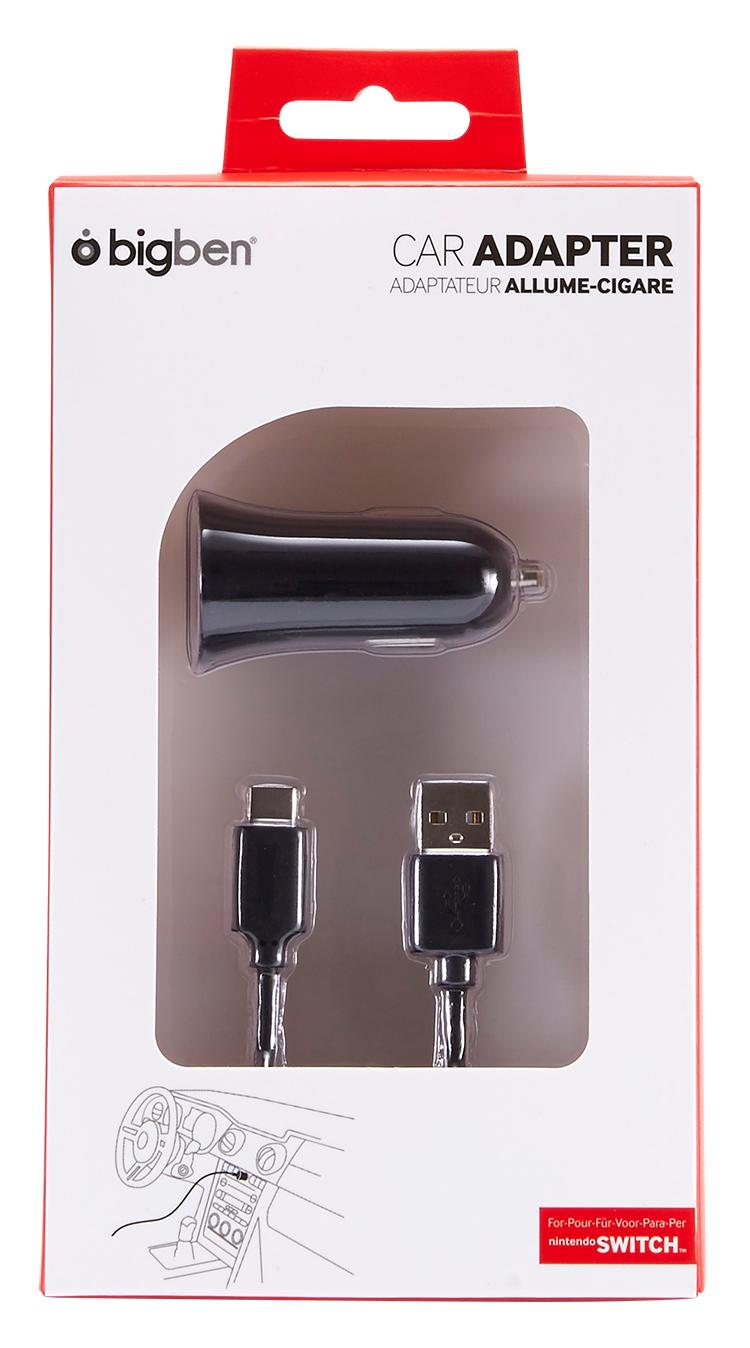adaptateur voiture switchcarlight bigben bigben fr sound accessoires gaming mobile. Black Bedroom Furniture Sets. Home Design Ideas