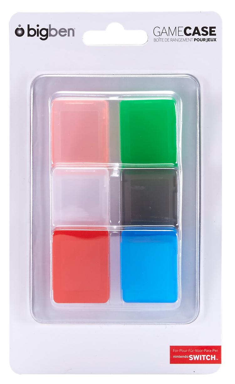 Ensemble de 6 boîtes pour jeux Nintendo Switch™ - Visuel