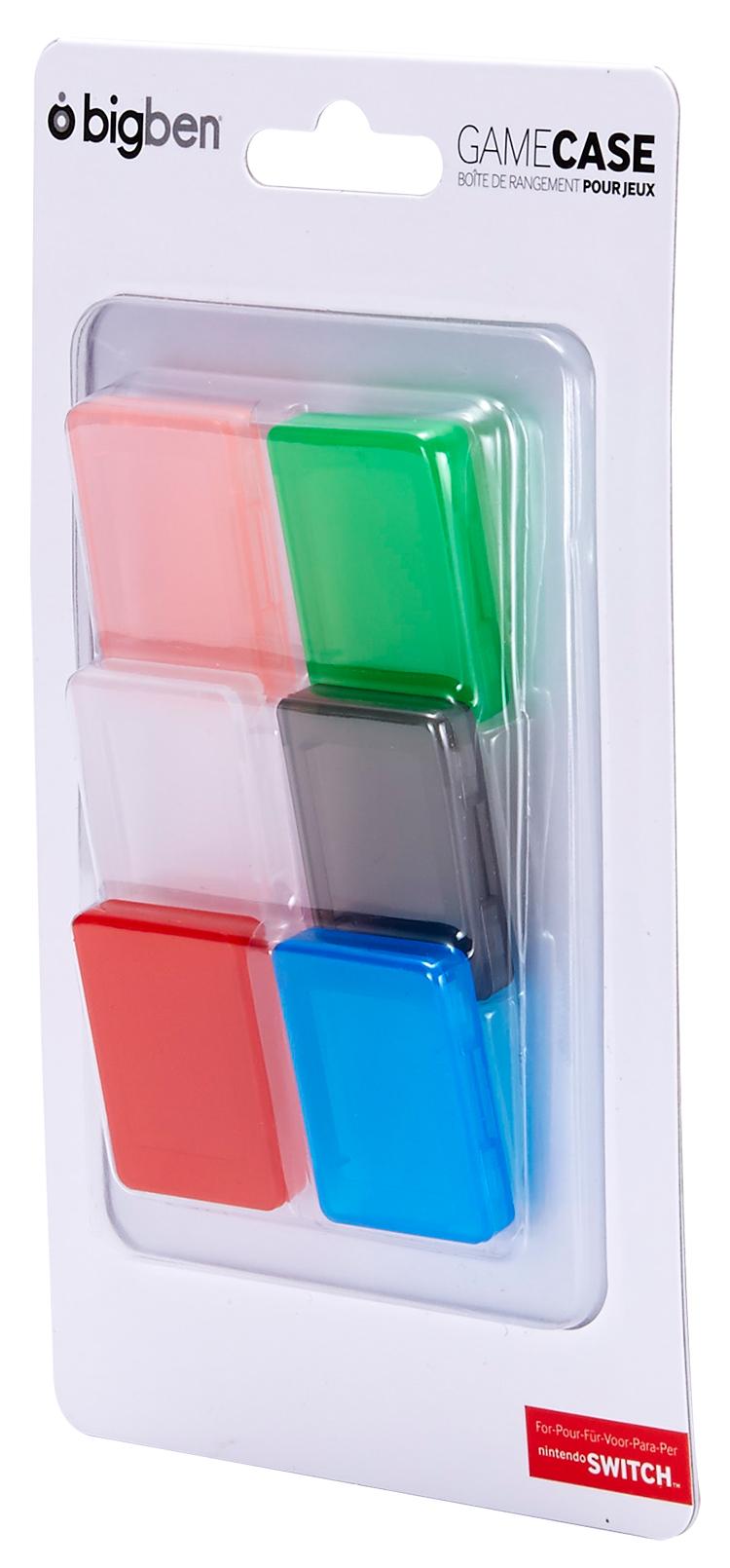 Ensemble de 6 boîtes pour jeux Nintendo Switch™ - Visuel#2tutu