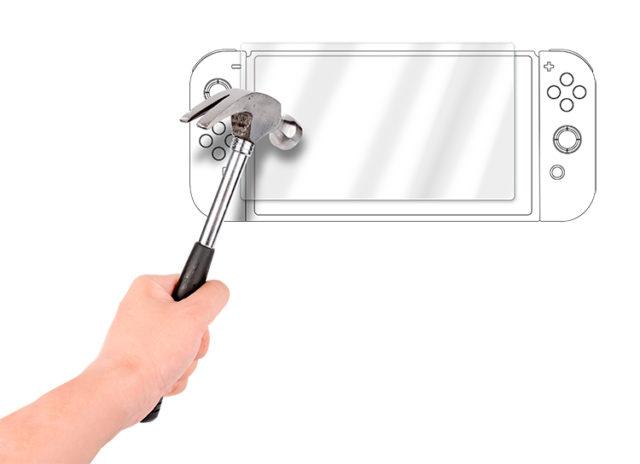 Film de protection verre trempé» pour tablette Nintendo Switch™ – Visuel#1