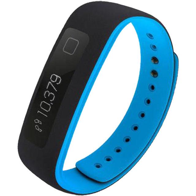 Bracelet connecté IFIT Vue (noir et bleu) - Packshot