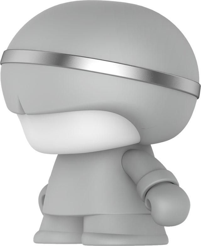 Mini enceinte ultra compacte Xboy Xoopar (argenté) – Packshot