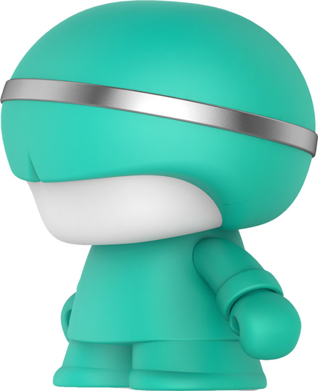 Mini enceinte ultra compacte Xboy Xoopar (vert menthe) - Packshot