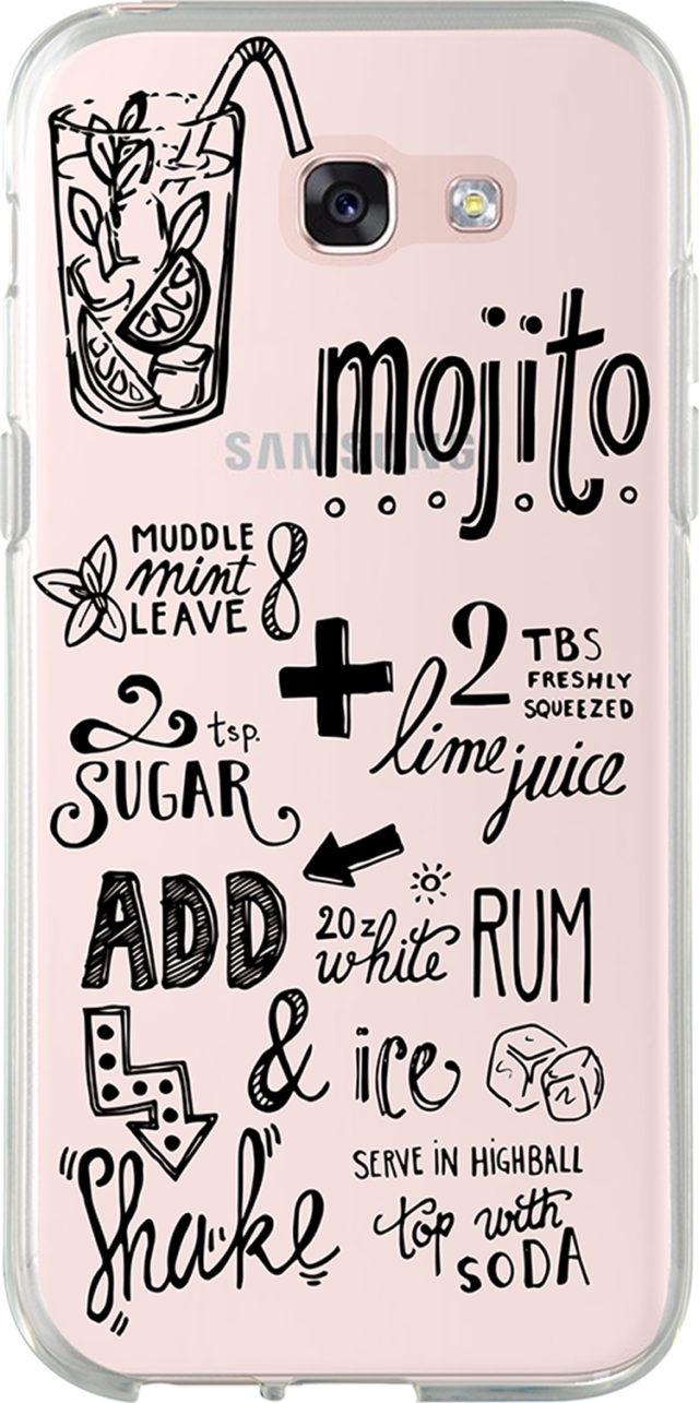 Coque semi-rigide (Transparent Recette Mojito) - Packshot