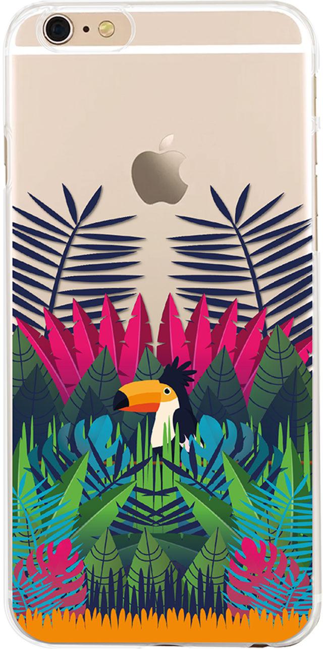 Coque semi-rigide (multicolore Amazonia) - Packshot