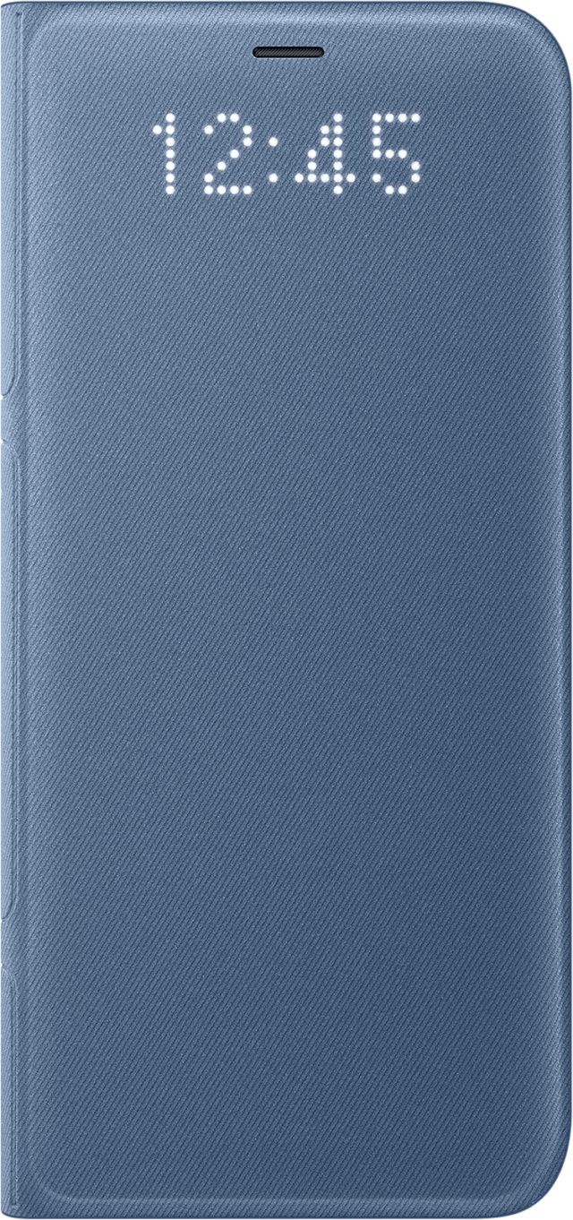 Étui folio LED View cover Samsung (bleu) - Packshot