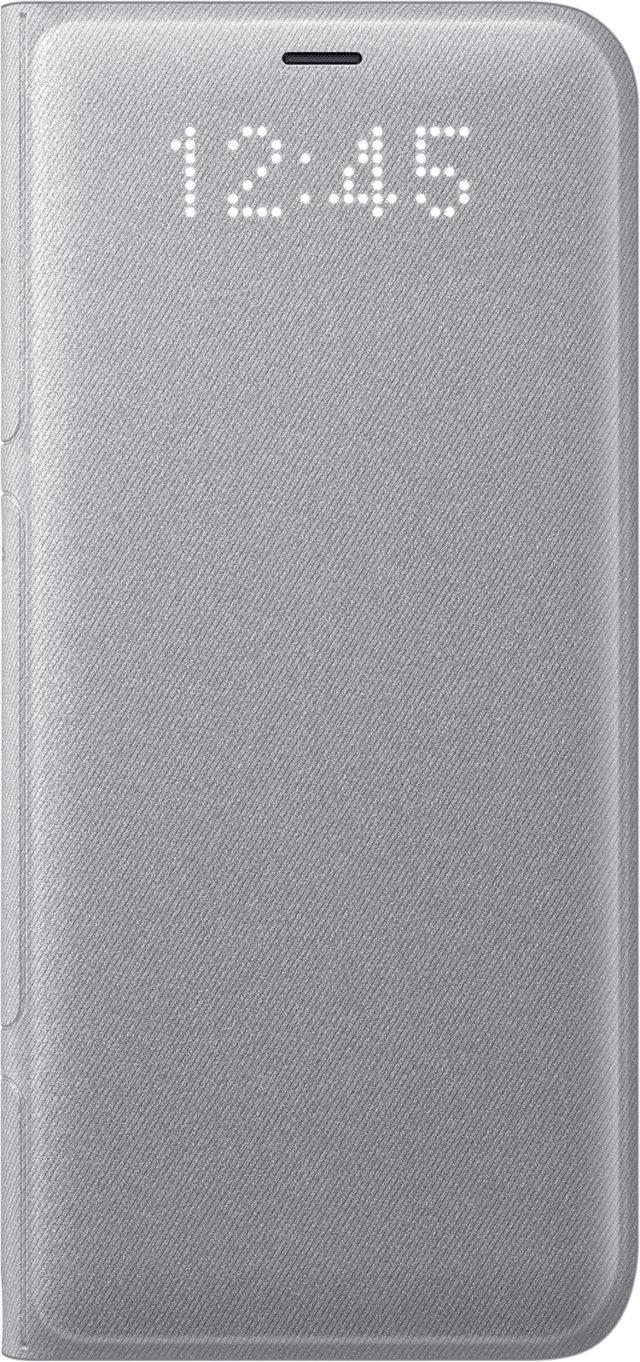 Étui folio LED View cover Samsung (argent) - Packshot