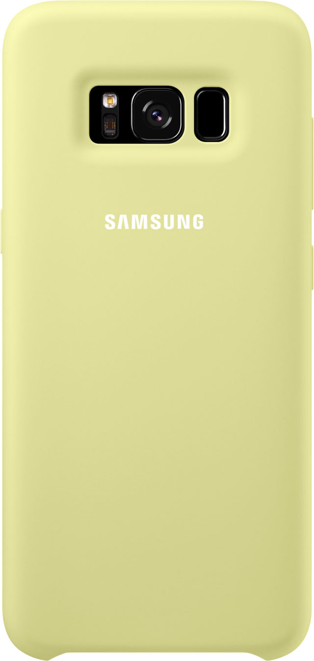 Coque semi-rigide Samsung (vert) - Packshot
