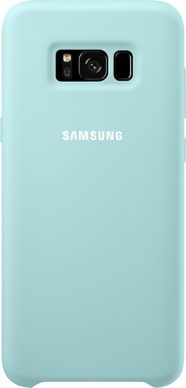 Coque semi-rigide Samsung (bleu) - Packshot