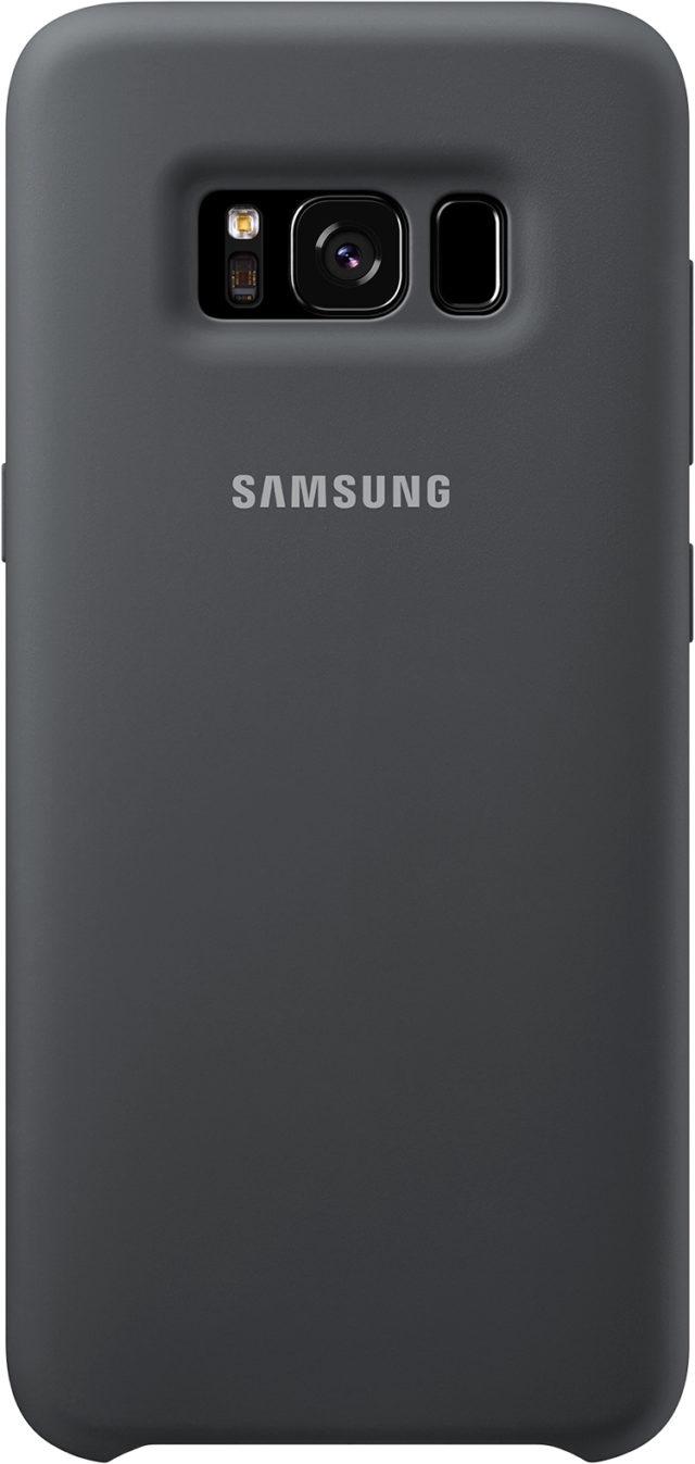 Coque semi-rigide Samsung (noir) - Packshot