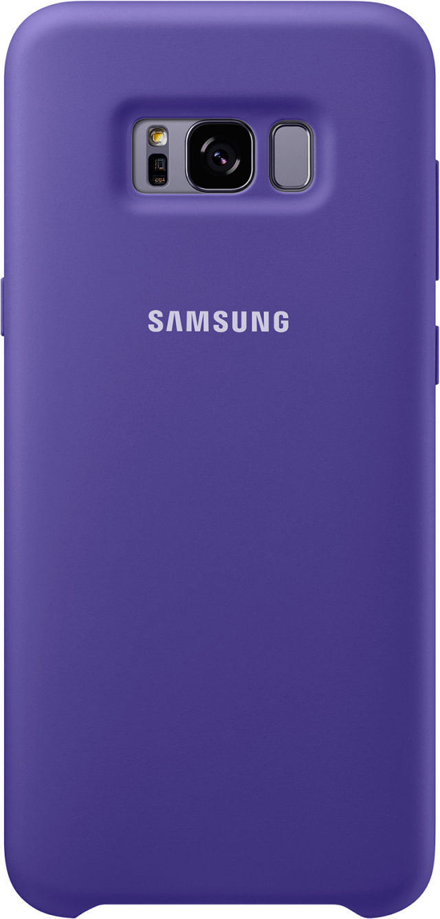 Coque semi-rigide Samsung (violet) - Packshot