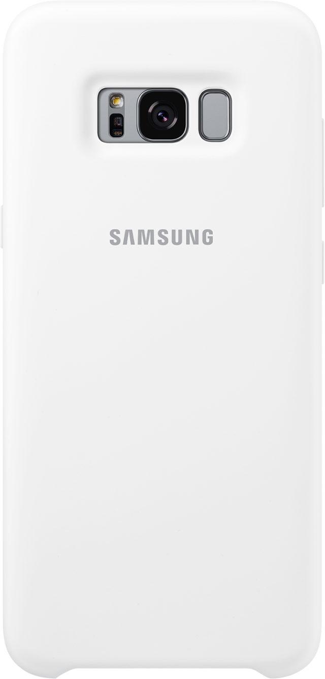 Coque semi-rigide Samsung (blanc) - Packshot
