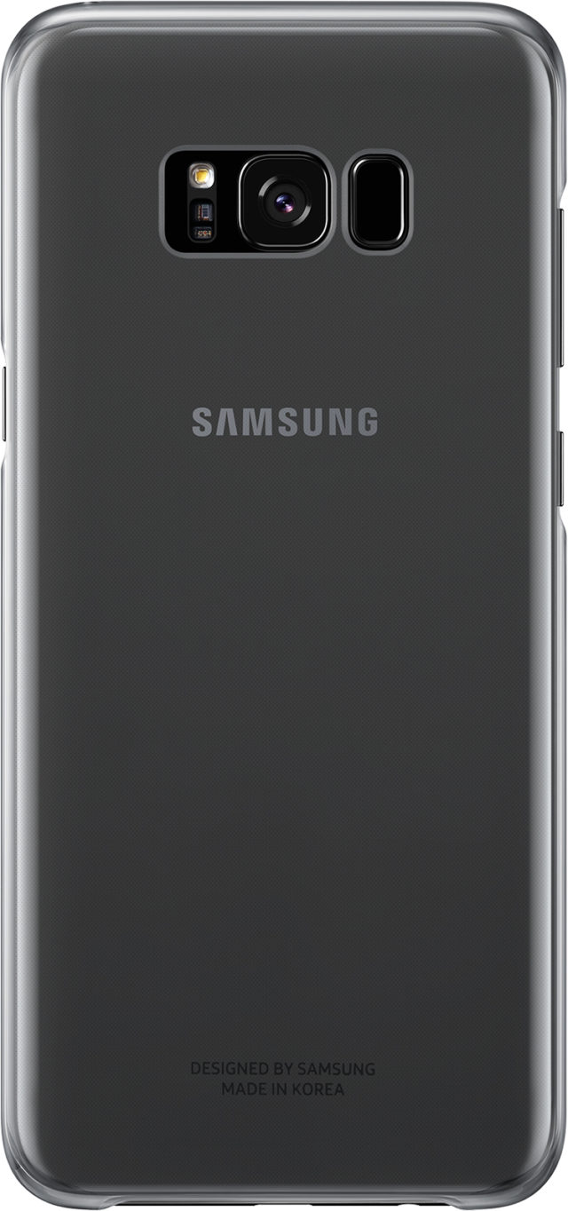 Coque semi-rigide Samsung (noir transparent) - Packshot