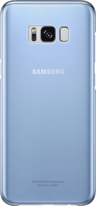 Coque semi-rigide Samsung (bleu transparent) - Packshot