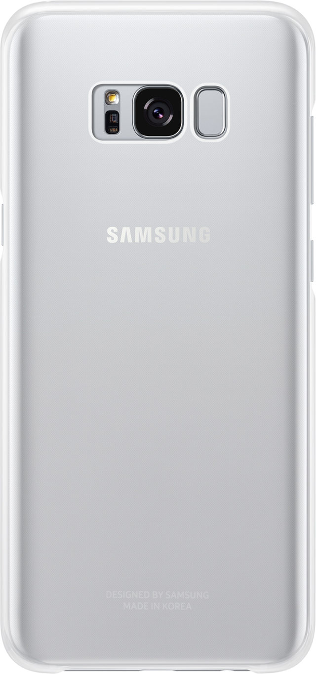 Coque semi-rigide Samsung (argent transparent) - Packshot