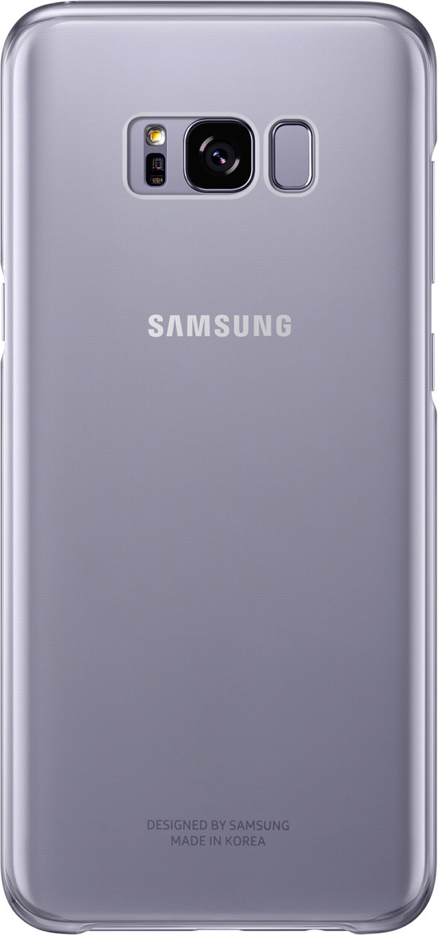 Coque semi-rigide Samsung (lavande transparent) - Packshot