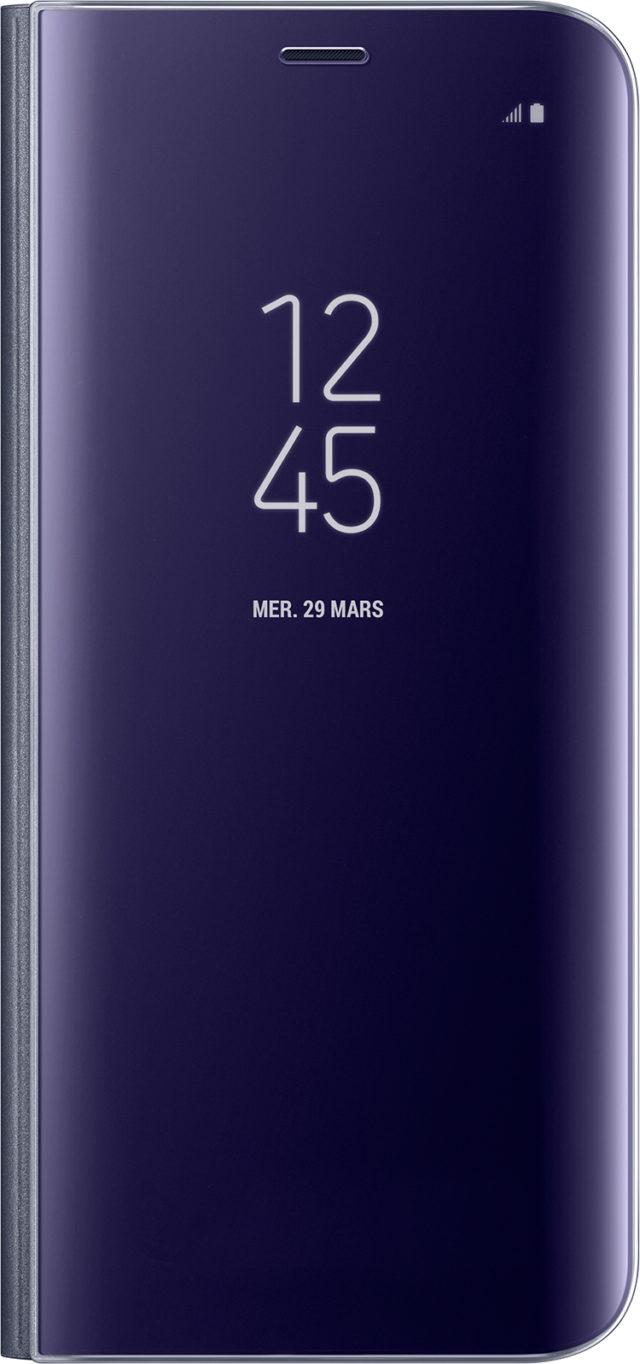 Étui à rabat Clear View Cover Samsung (lavande) - Packshot