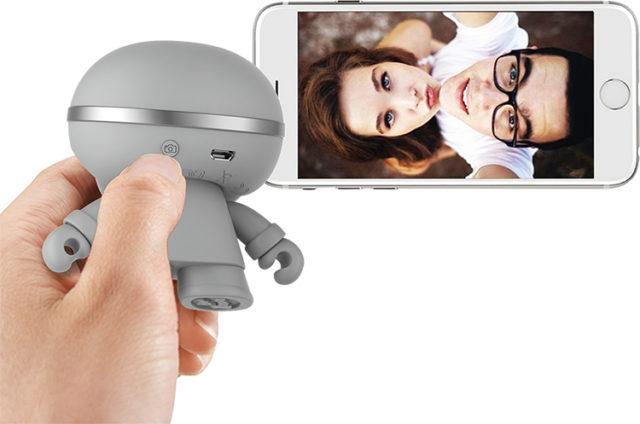 Mini enceinte ultra compacte Xboy Xoopar (argenté) – Visuel