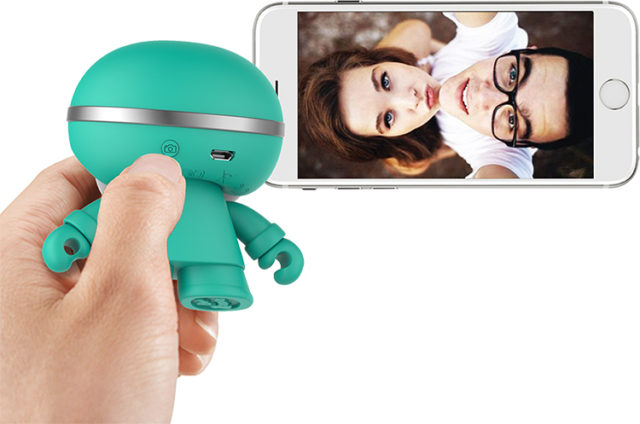 Mini enceinte ultra compacte Xboy Xoopar (vert menthe) – Visuel