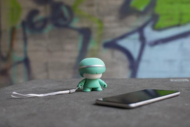 Mini enceinte ultra compacte Xboy Xoopar (vert menthe) – Visuel#1