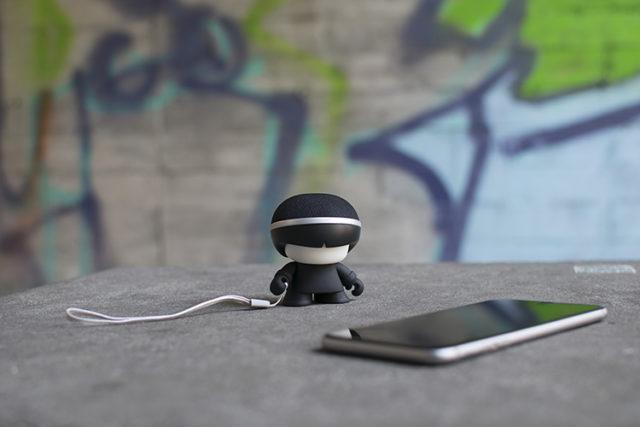 Mini enceinte ultra compacte Xboy Xoopar (noir) – Visuel