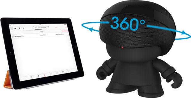 Enceinte Bluetooth® Xboy Xoopar (noir) – Visuel#1