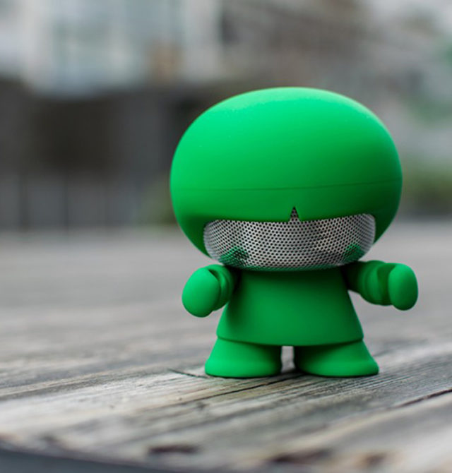 Enceinte Bluetooth® Xboy Xoopar (vert) – Visuel#1