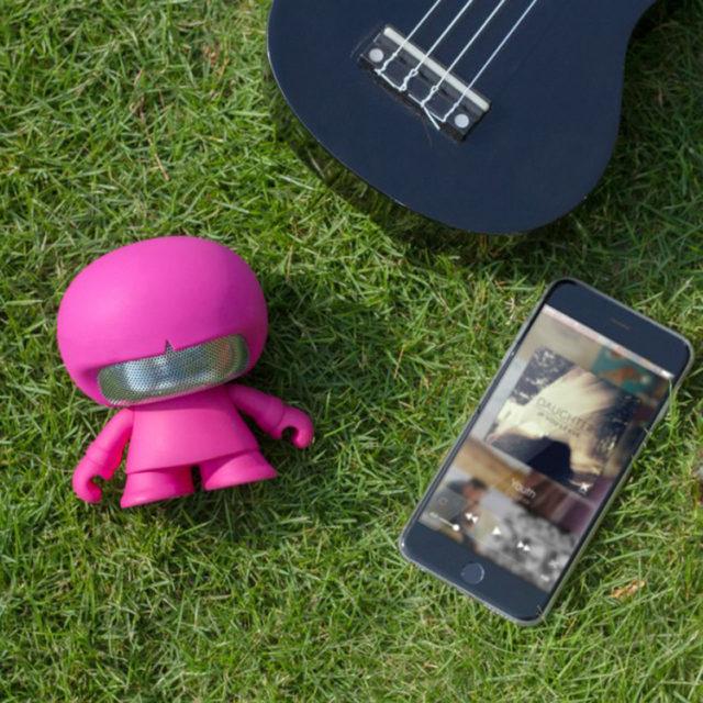 Enceinte Bluetooth® Xboy Xoopar (rose) – Visuel#1