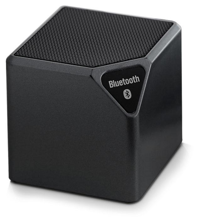 Enceinte sans fil portable (noir métallisé) - Packshot