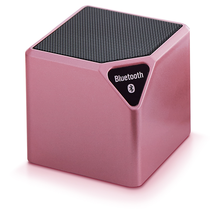 Enceinte sans fil portable (rose métallisé) - Packshot