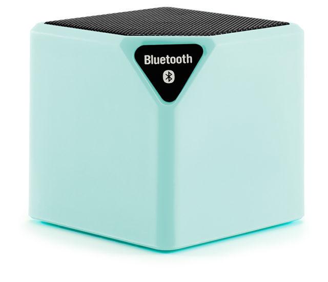 Enceinte sans fil portable (vert d'eau) - Packshot