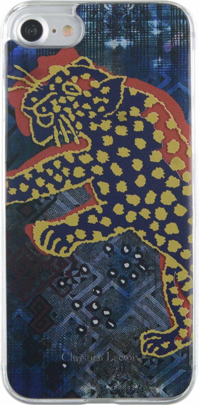 Coque Christian Lacroix «Panthera» (bleu) - Packshot