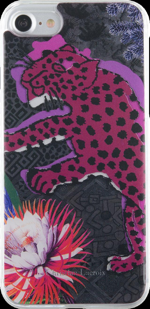 Coque Christian Lacroix «Panthera» (violet) - Packshot