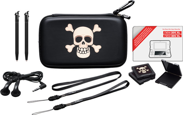 Pack « essential » pour console Nintendo New 2DS™ XL/ Nintendo New 3DS™ XL (édition limitée « pirate ») – Packshot
