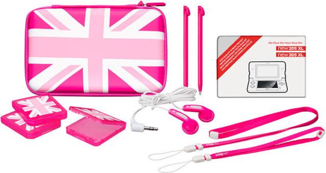 Pack «essential» pour console Nintendo New 2DS™ XL (édition limitée UK) - Packshot