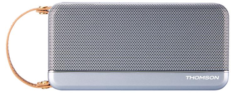 Enceinte sans fil portable Thomson (gris métalisé) - Packshot